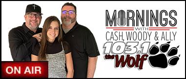 Cash, Woody & Ally 6a-10a